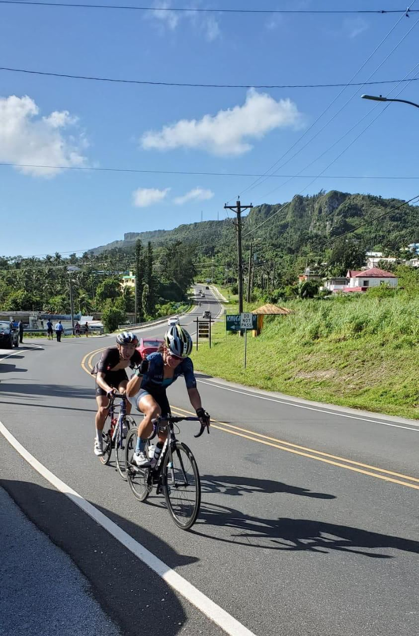Nadeau wins Hell of the Marianas