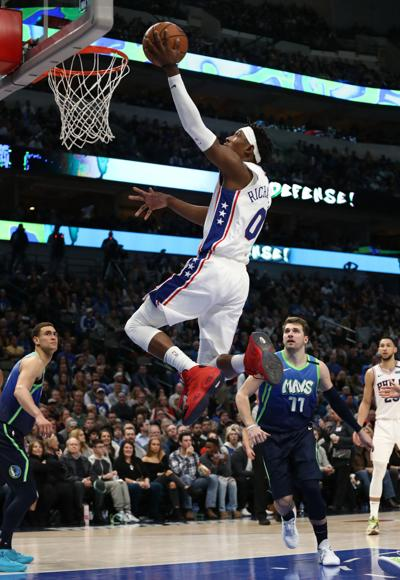 Intense 'chippy' practices mark Sixers stay in bubble