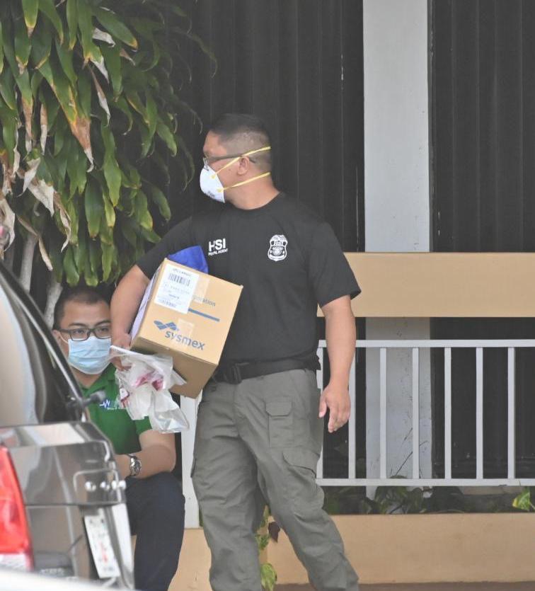 Federal agents raid Guam supplier of medical supplies