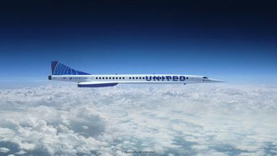 United inks agreement to buy supersonic aircraft