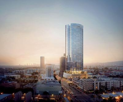 Art Deco-inspired skyscraper planned for LA's Miracle Mile