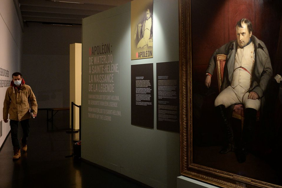 Napoleon's shirt worn in exile and English letter go on display 2