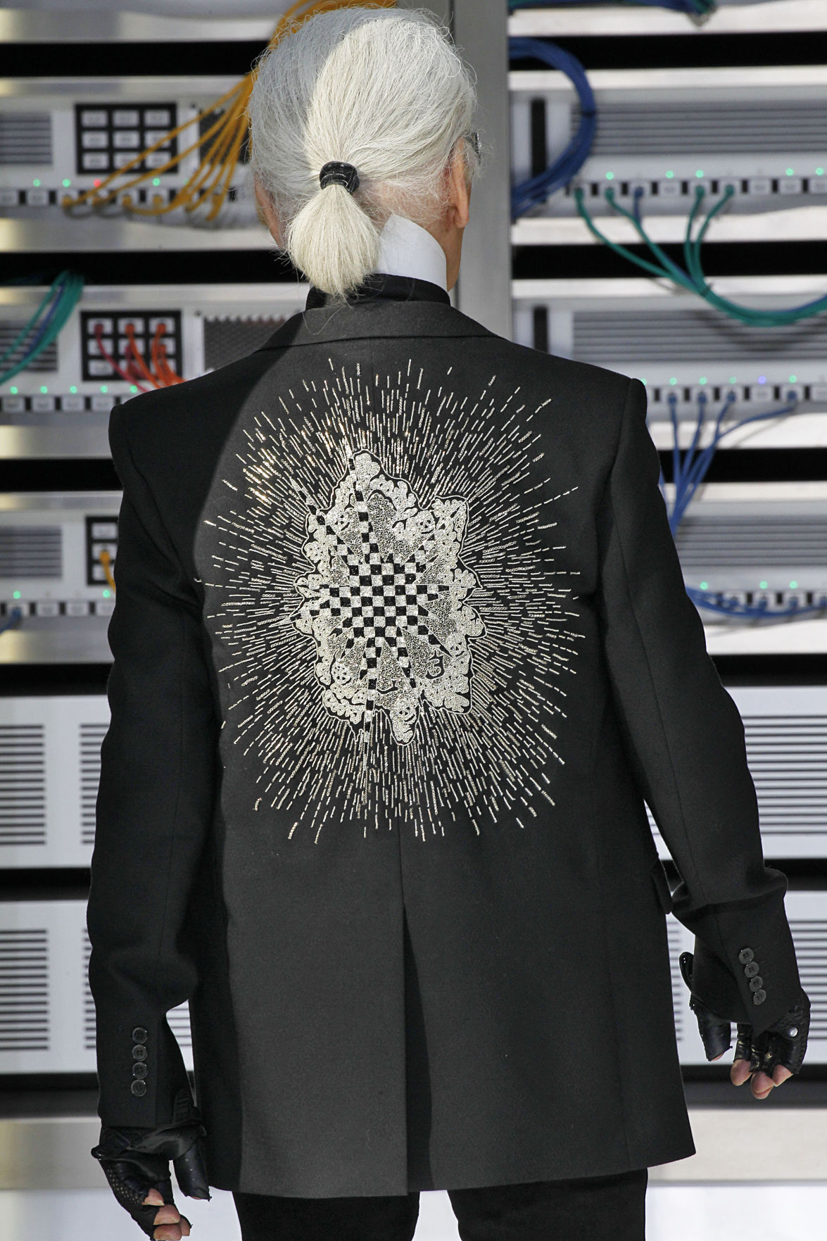 Lagerfeld invented a new kind of designer