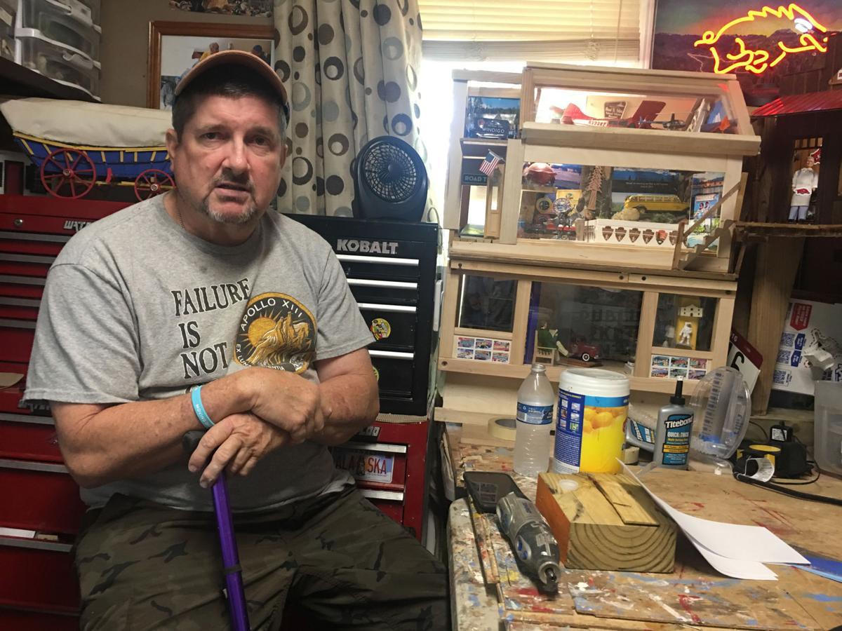 Parkinson's survivor builds dollhouses