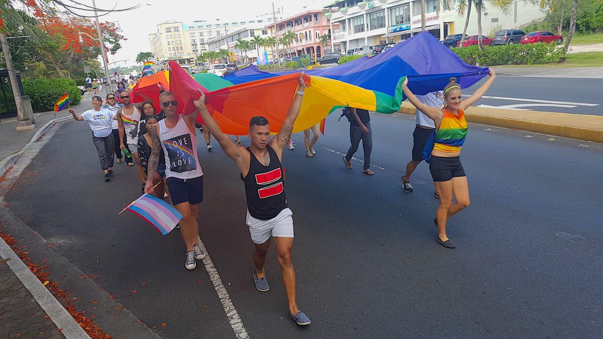 Hundreds join Pride March