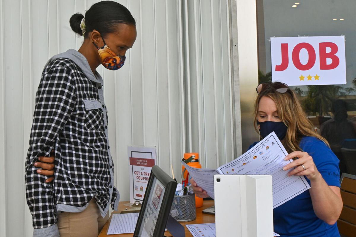 With job search requirement, unemployment claims dip