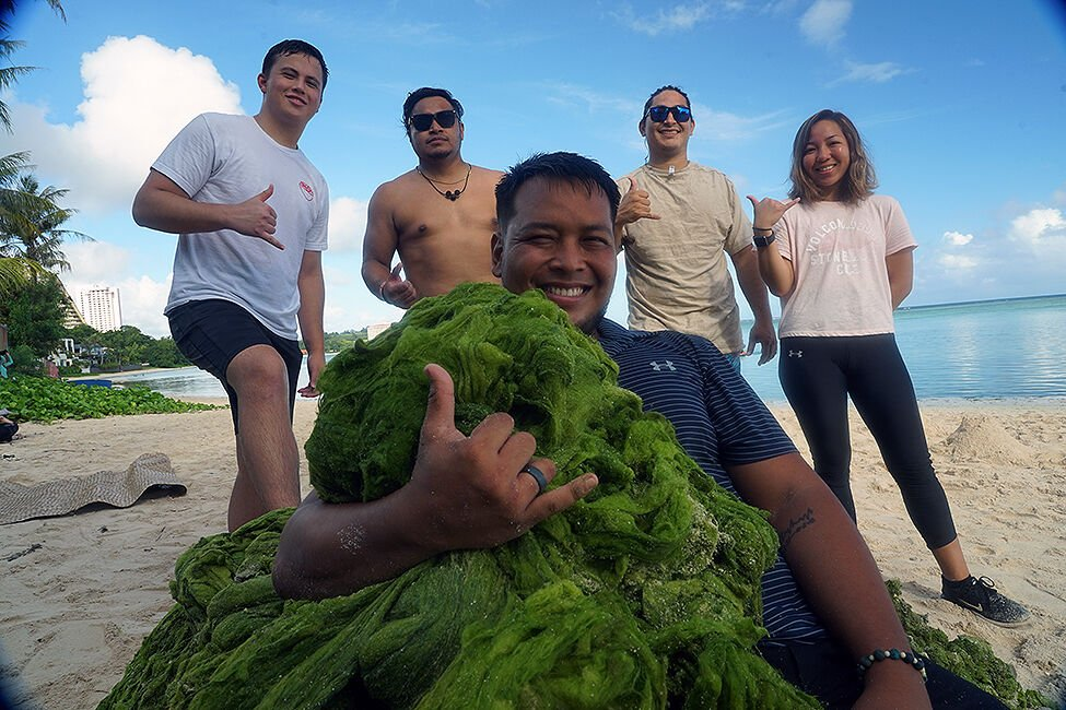 Volunteers show island pride with islandwide cleanup