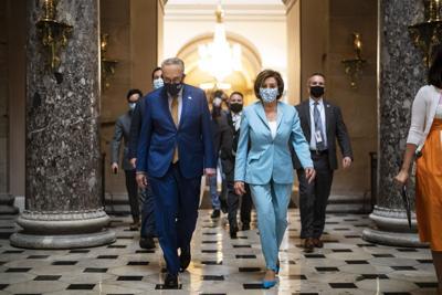 Democrats unveil new plan to fund government, suspend debt ceiling