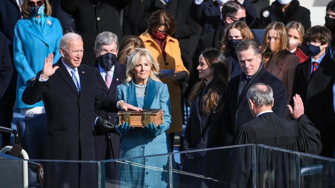 President Biden: 'Much to restore. Much to heal. Much to build. And much to gain.'
