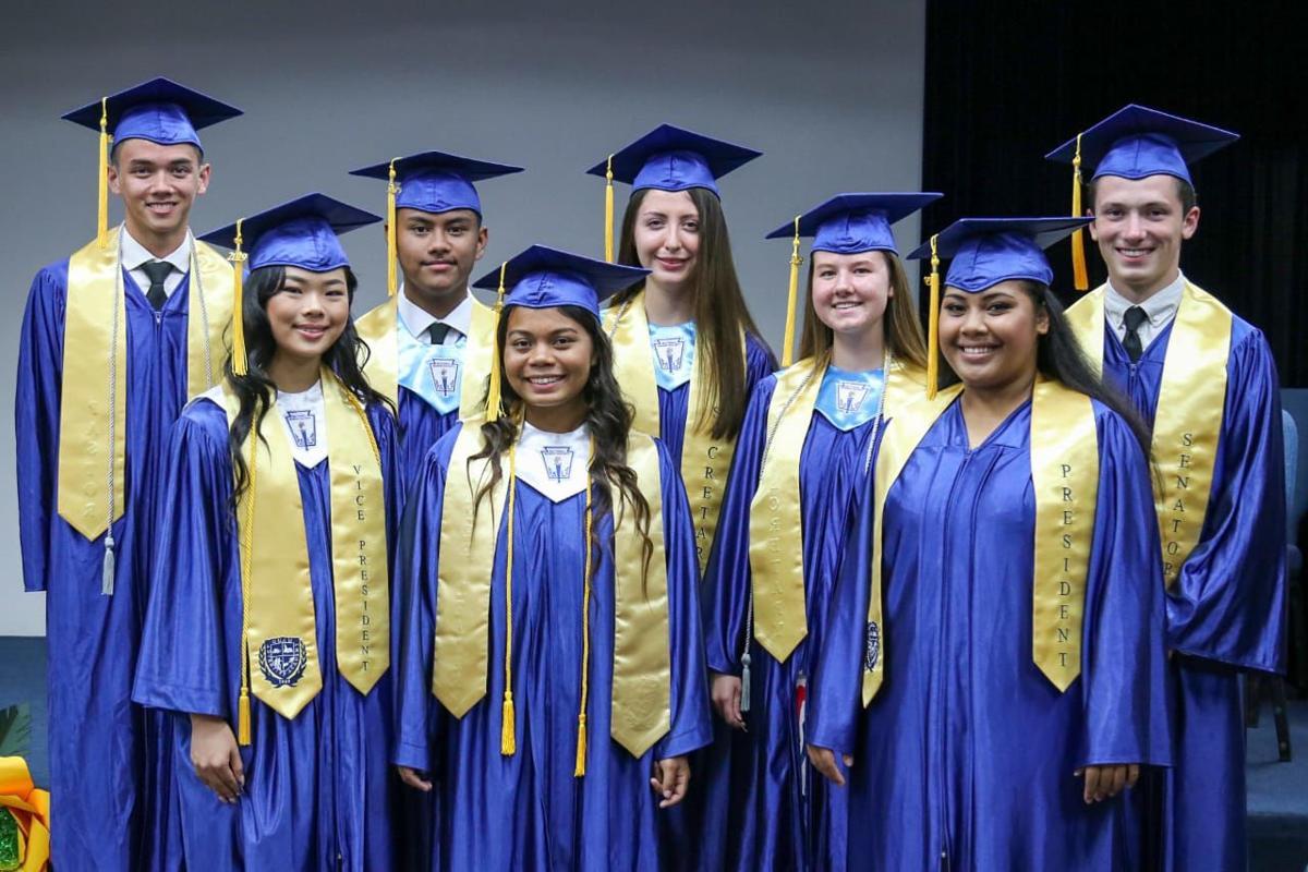 8 Graduate From Guam Adventist Academy Guam News Postguam Com