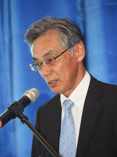 Diplomat gives sparse comment on military buildup