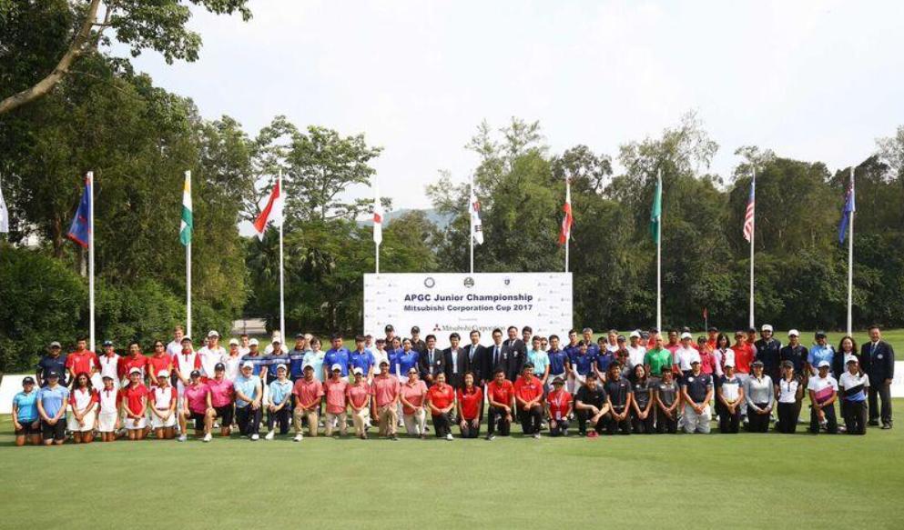 guam golfers compete in apgc junior championship mitsubishi