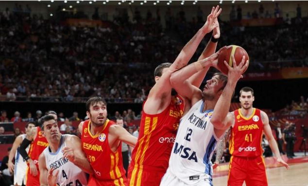 Spain wins FIBA World Cup