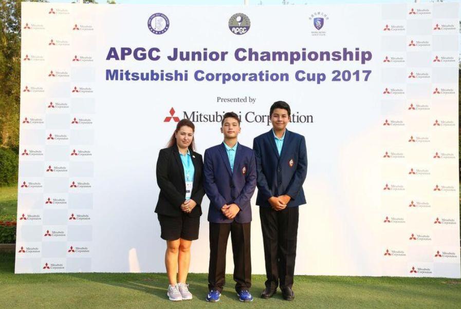 Guam golfers compete in APGC Junior Championship Mitsubishi Corporation Cup 2017
