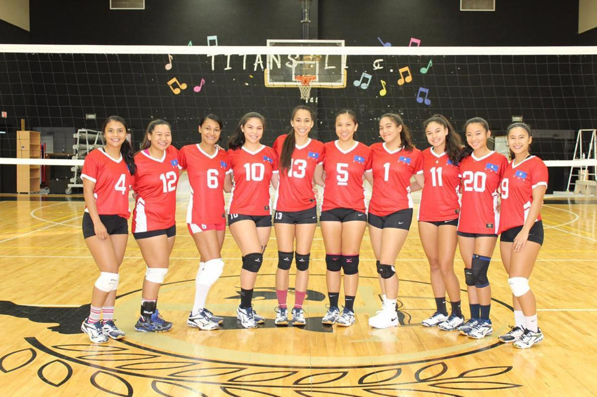 Young Volleyball Team Ready For Pacific Games Guam Sports Postguam Com