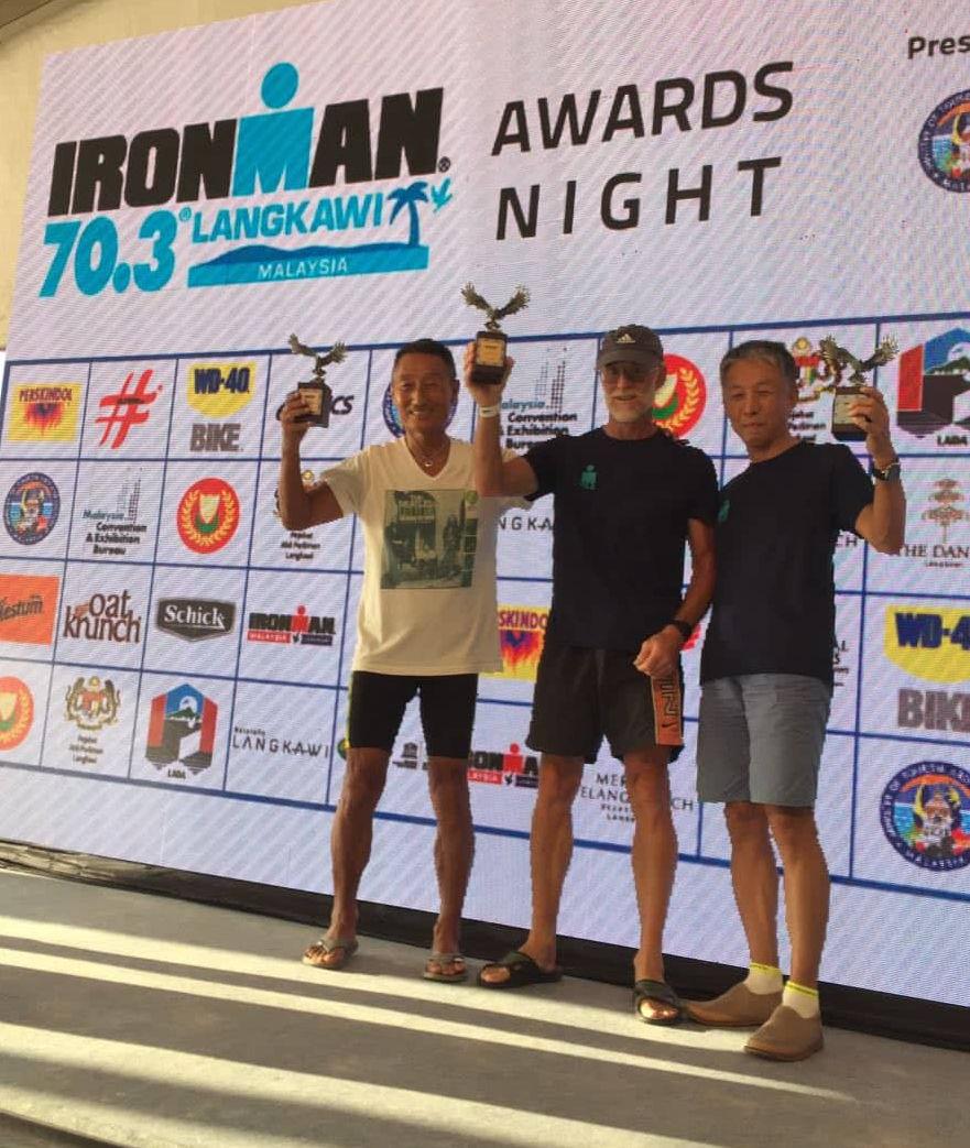 Kunimoto 3rd at Ironman 70.3 Langkawi