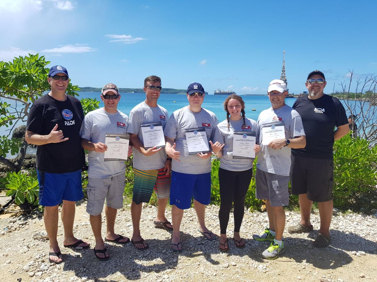 New dive instructors join MDA