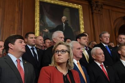 Cheney ousted from House GOP leadership