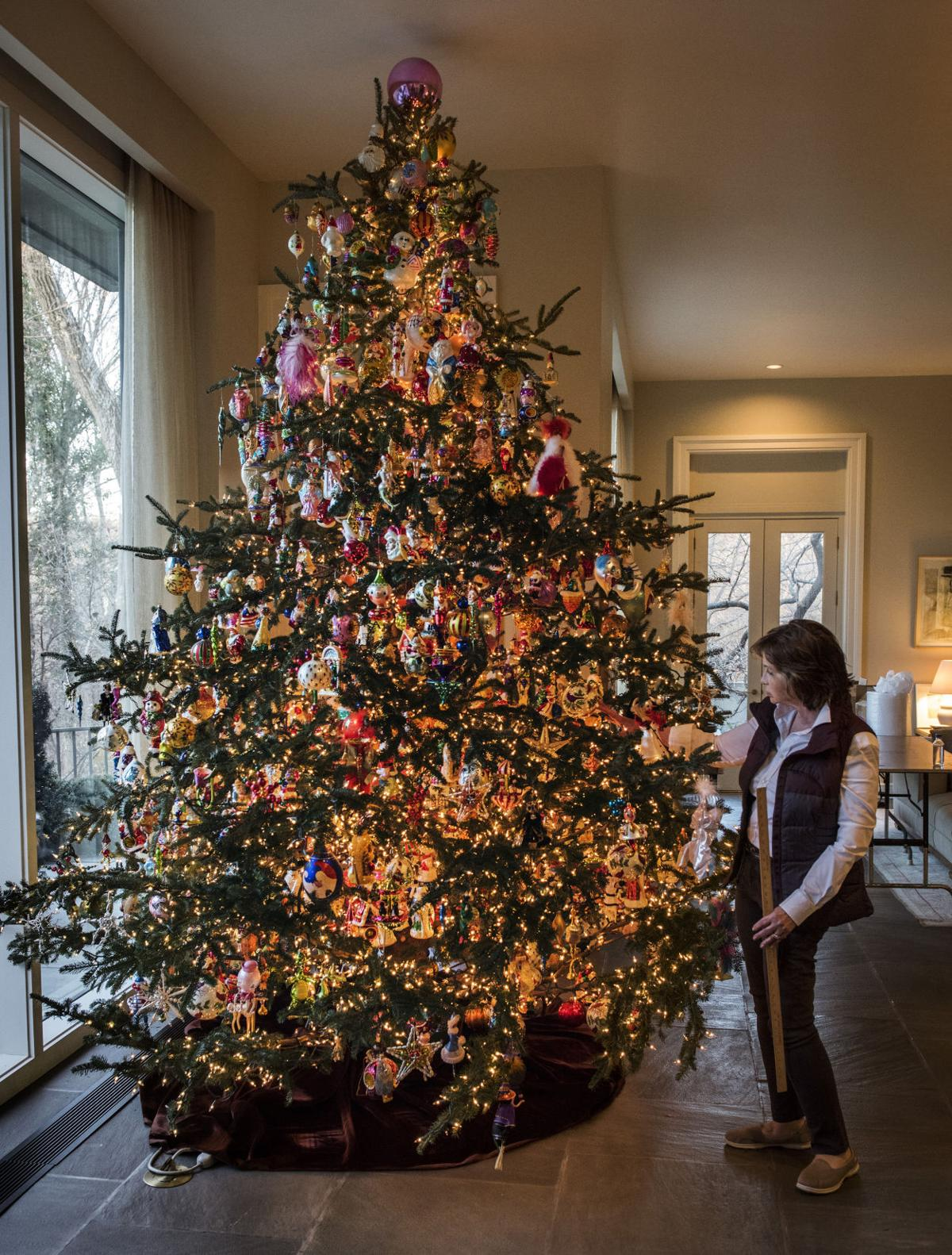This isn't your grandma's Christmas tree