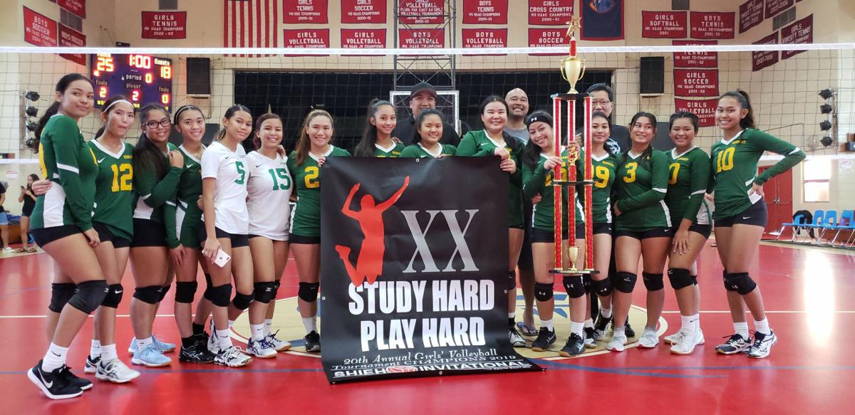Seniors power Islanders to 2019 Shieh Girls Volleyball Invitational championship PIC 1