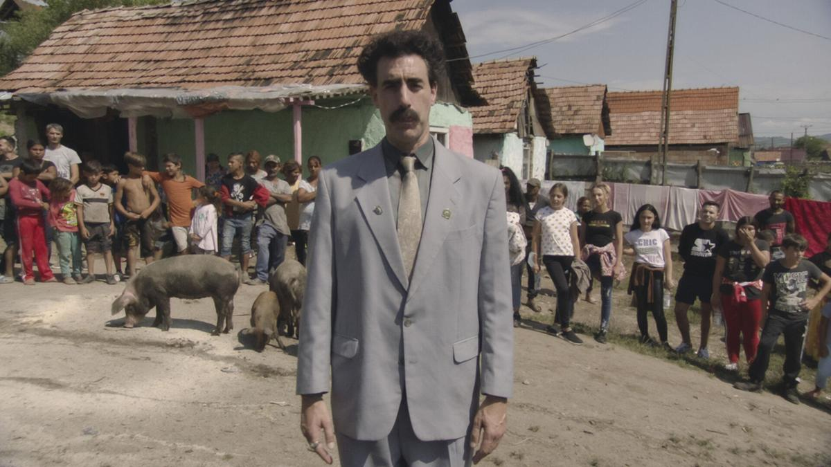 Borat takes on Trump and coronavirus in clever, scattershot sequel