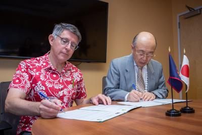 UOG signs student-exchange agreement with Japan university