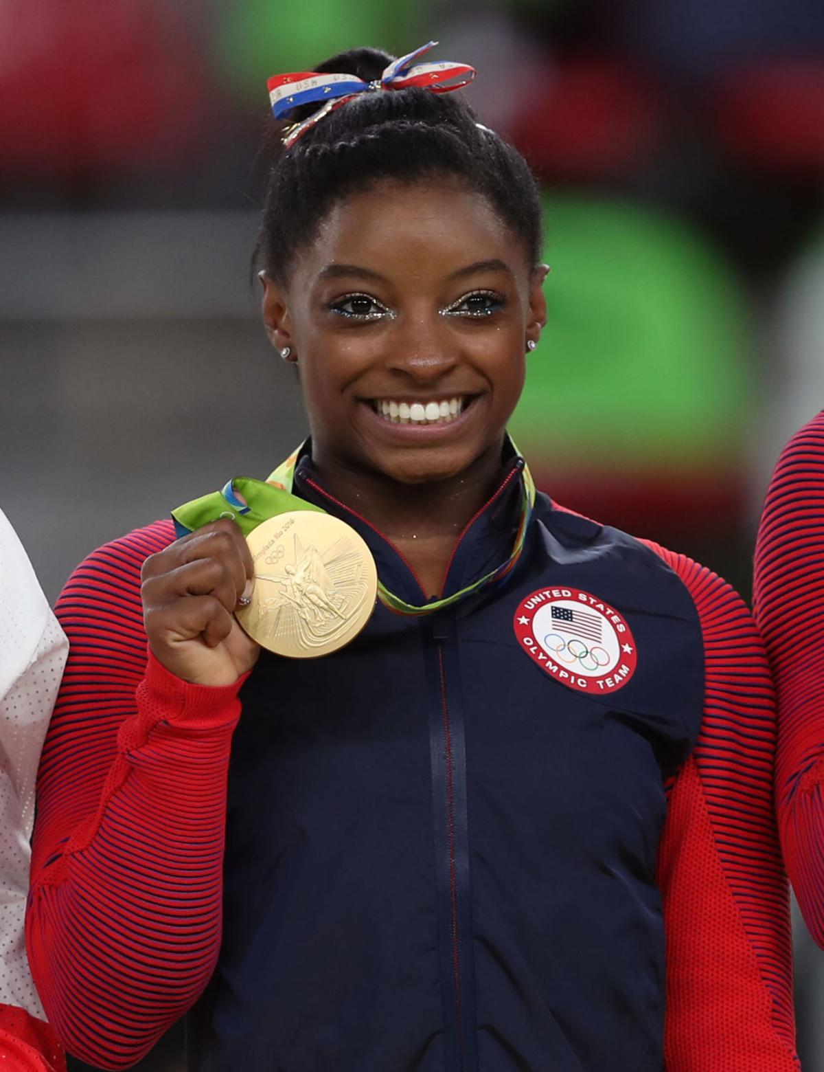 Biles calls USA interim training base 'good start'