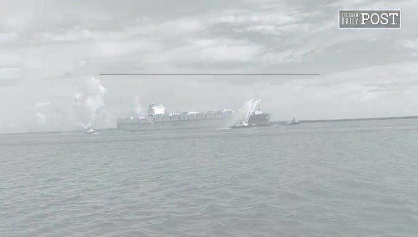New Matson ship makes maiden Guam stop