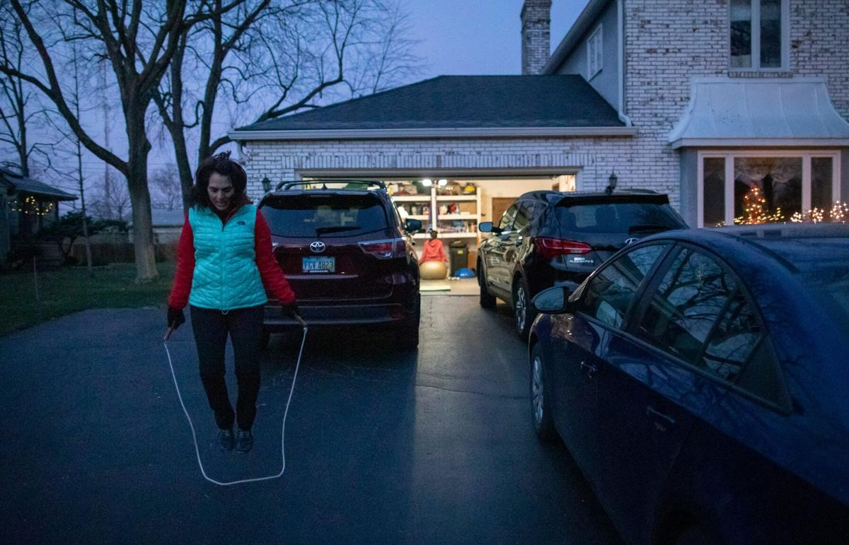 Workouts at home can be effective with minimal cost and a little creativity