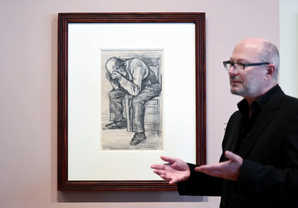 'Worn Out': Dutch museum finds Van Gogh drawing of tired old man