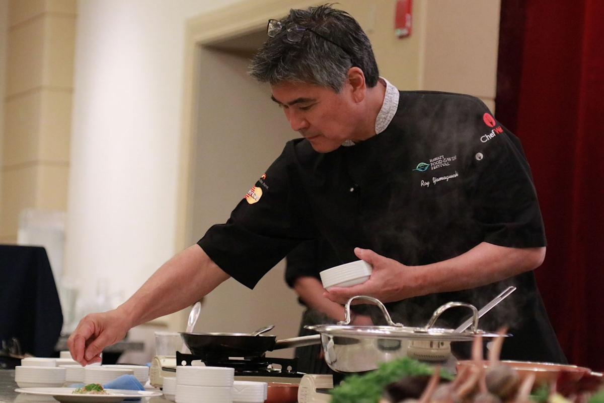 Cooking with Chef Roy Yamaguchi