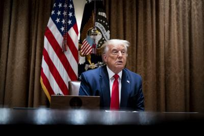 Trump says he may act to stop evictions