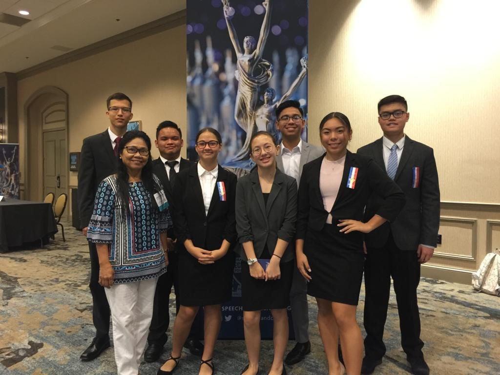 Guam students compete in speech, debate tournament