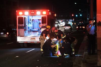 Pedestrian dies in crash