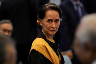 Suu Kyi appears 'not very well' as trial starts in Myanmar