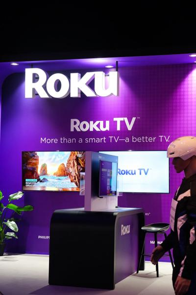 Roku gets a lift from home-viewing surge
