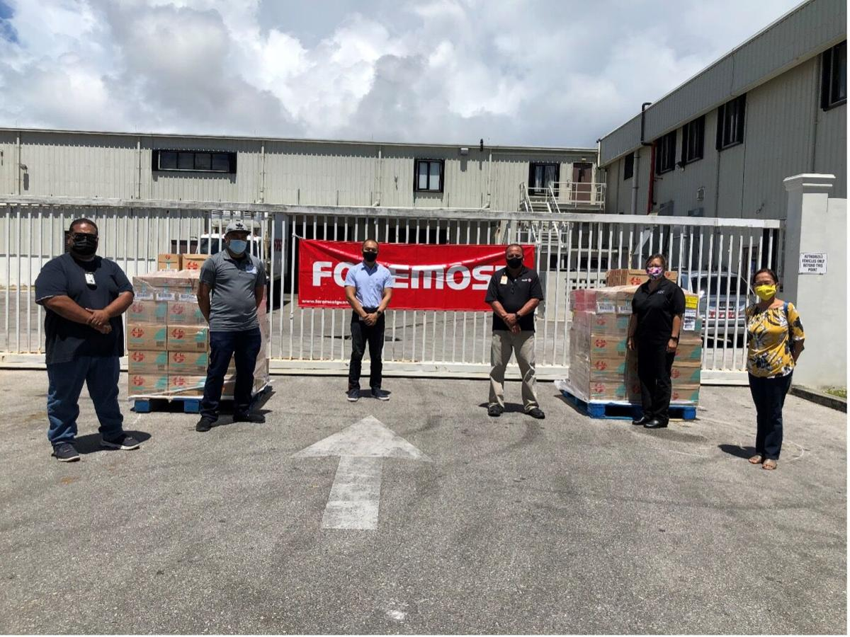 Foremost donates milk to over 5,000 families in need on Guam