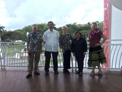 Vatican Museums curators visit Guam