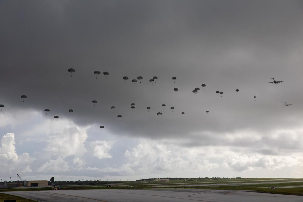Hundreds of paratroopers drop in from Alaska