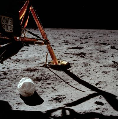The moon is a graveyard of Apollo astronaut trash. Here's what we'll find when we return