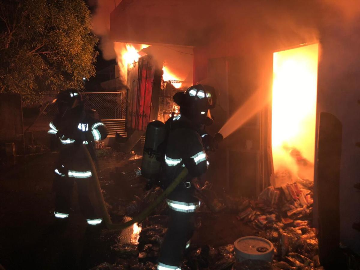 Firefighters respond to another structural fire early Tuesday morning