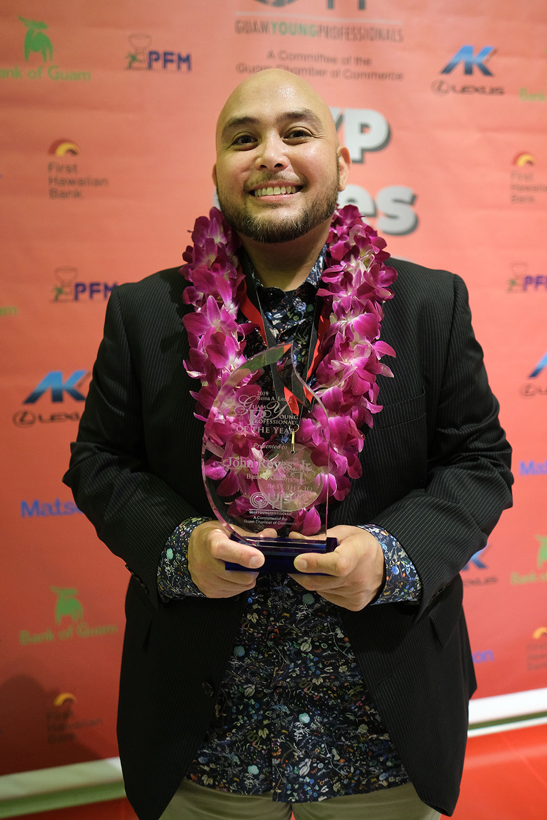 Reyes named Young Professional of the Year