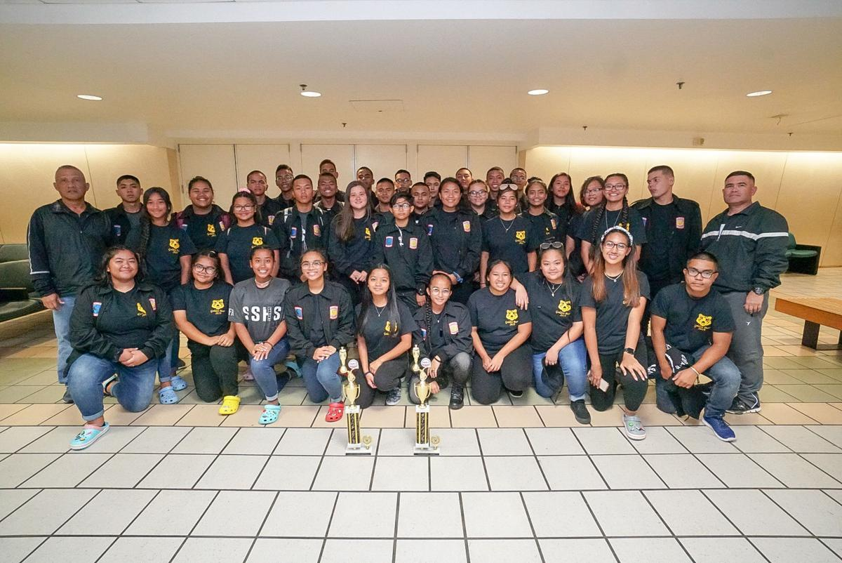 Guam JROTC teams return home with trophies