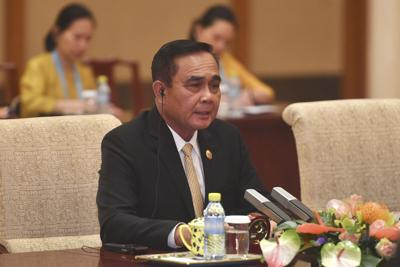 Thai government faces first test (FOR USE WITH THIS STORY ONLY)