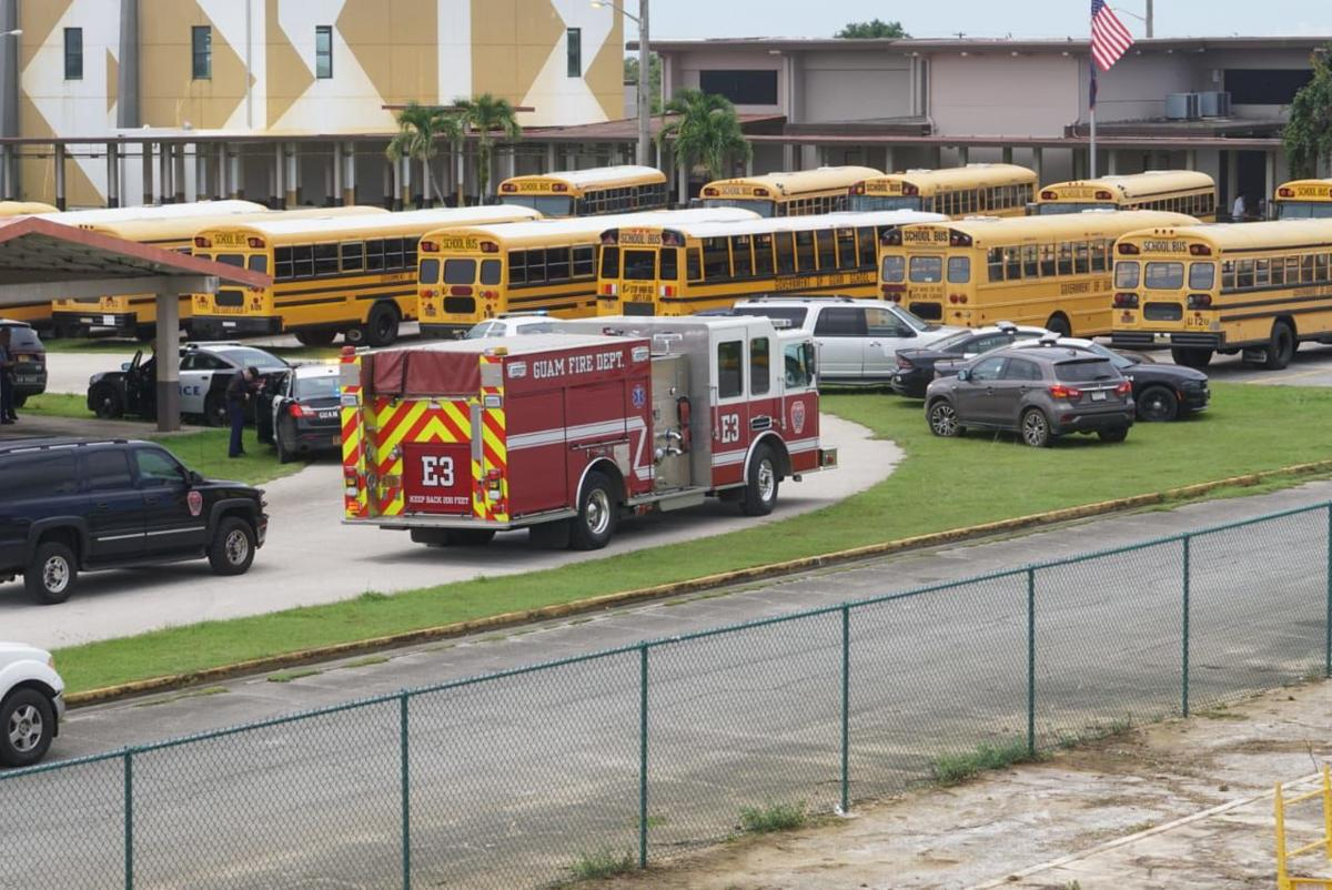 5 held in school riot