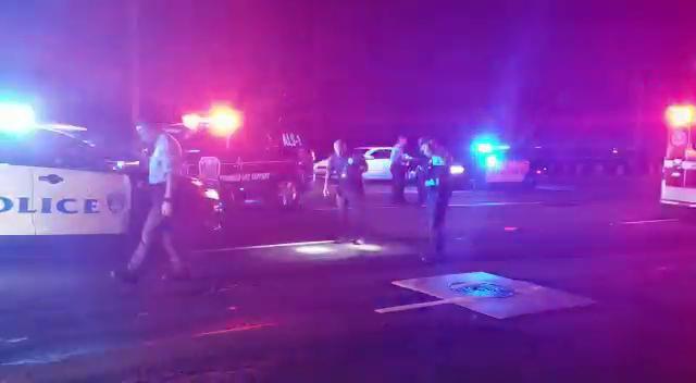 Police respond to crash on Marine Corps Drive