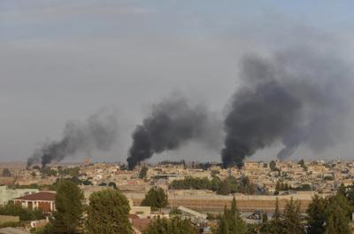 Turkey strikes at Syria's Kurds; GOP turn on Trump