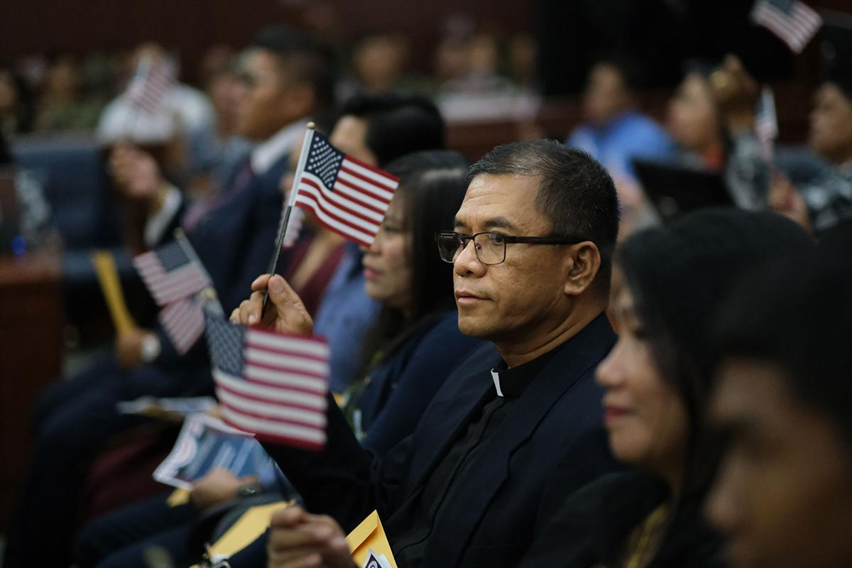 Guam has 33 new Americans ahead of President's Day