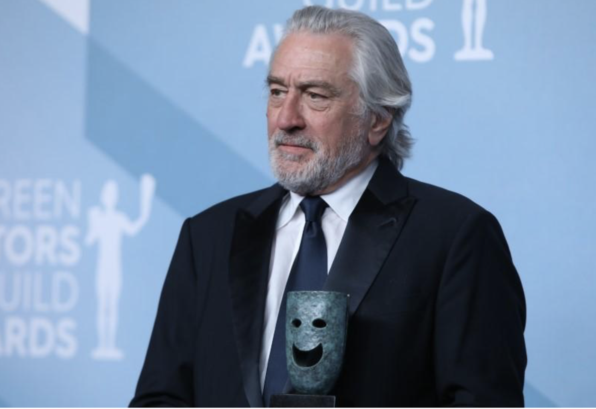 SAG awards De Niro lifetime award