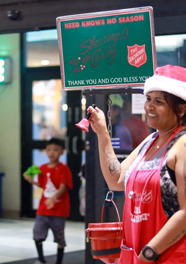 Ring in the Christmas season with Salvation Army